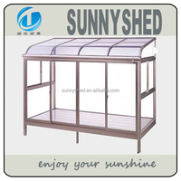 2015 Aluminum frame sun room with polycarbonate sheet