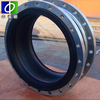 double bellow stainless steel flexible rubber expansion joint