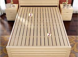 Living furniture Wooden Frame, Nicepine solid Bed