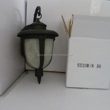 Classic outdoor wall garden lamp ,Classic solar garden lamp 5031A/N BK