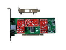 TDM410P PCI Analog Asterisk card with 4 FXO modules low profile digium card for Asterisk IP PBX .it can be used in 2U server