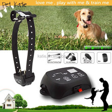 Waterproof Rechargeable Dog Training Collar Wires Pet Fencing System