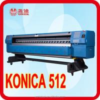 konica printer 3.2m banner commercial digital printing machine