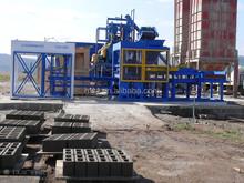 colored concrete block making machine QT8-15
