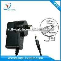 Hot sale!!! Input 100-240VAC Output 5V 9V 12v adapter for ipad With CE RHOS