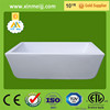 Factory price top grade durable classical acrylic bathtub