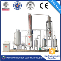 CE&ISO ithout pollution waste engine oil distillation machine with 90%-95% diesel oil output