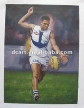 High Quality Artist Painted Sporting Star Artwork Pictures