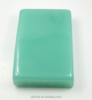 high quality rough gemstone raw material green jade bead material