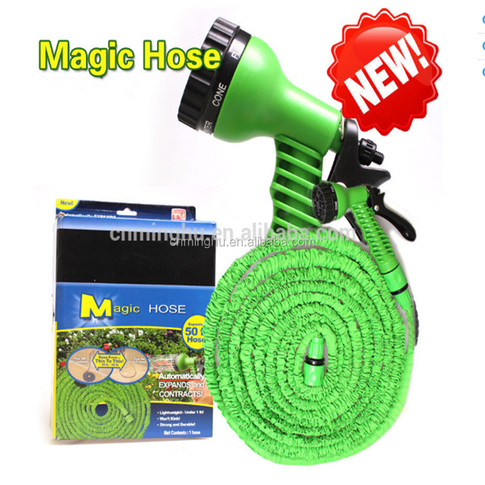 As Seen On Tv Latex Brass Fitting Expandable Garden Magic