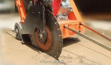 Handheld portable asphalt road cutter