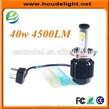 best headlight bulbs 40W all in one led headlight H13/H1/H7 led buld
