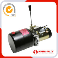 Equiped with high pressure gear pump,Motor Volt 12VDC;1.2ml/r;20Mpa and 3.5L tank used in forklift and mini lift table