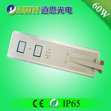 60W best selling china factory price integrated all in one solar street light acrylic