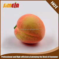 Simela Wholesale Polystyrene peach artificial fruit for decoration