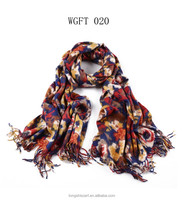 latest dress designs for ladies WGFT020 for women acrylic scarf fashion scarves supplier alibaba china