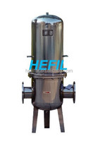 304 stainless steel Filter housing Pipeline Gas Filter shell with pleated filter media (email:filter01@hefil.com)