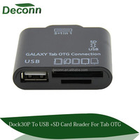 "5 in 1 USB OTG Connection Kit For Samsung Galaxy Tab 10.1 & 7"" tablet P3100 /5100"