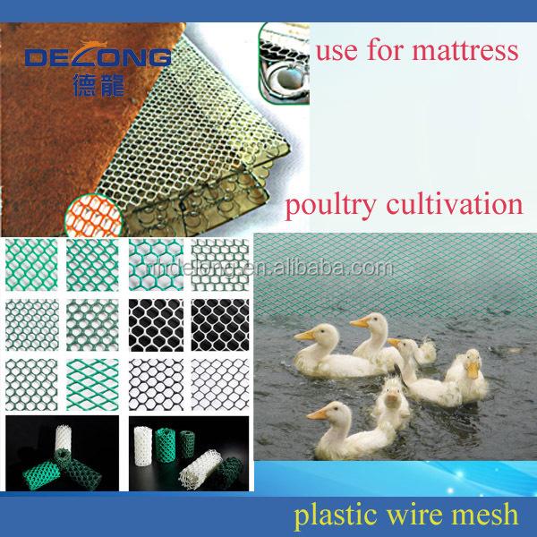 Facilement assemblés pp./pe en plastique net d'escrime pour les poulets