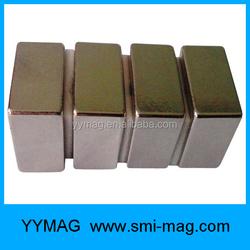Block ndfeb neodymium cube magnet high quality magnet