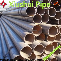 ERW steel tube welded steel pipe good competitive price