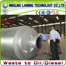 2013 the newest waste oil refinling system machine for diesel and gas