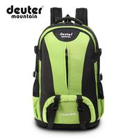 40L fashion nylon hiking backpack waterproof backpack travel bag