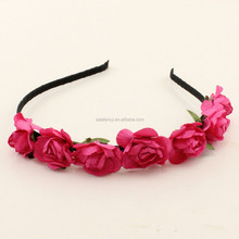 New arrival!! daisy bridal accessories flower crown headband ROSE QFHD-2524