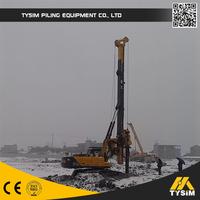 Bore depth 52m pile equipment KR150C Excavator drilling attachment Rotary pile drilling rigs