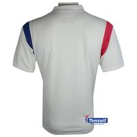 2014 Korea soccer jersey grade original ,white soccer uniform ,dri fit sportswear made in china