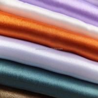 shiny satin fabric bridal dress home textile fabric