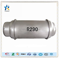 iso tank refrigerant gas r290 with 99.9% purity