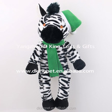 Plush Toy Factory Manufacturer Christmas Animal Toy Stuffed Zebra