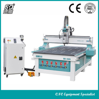 Perfect Configuration!!China high accuracy&factory price SD-2030(2000*3000*200MM) wood dowel cnc router engraving machine