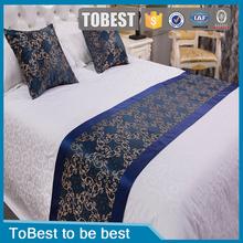 Luxury hotel linen 100% cotton jacquard bedding set bed sheets manufacture supplier