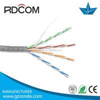 1000ft computer data cable cat5e lan 23 AWG 305m/plastic reel/carton