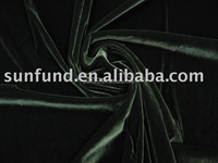 best price silk spandex velvet fabric