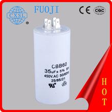 Máquinas de lavar CBB60 capacitor de partida do motor bomba