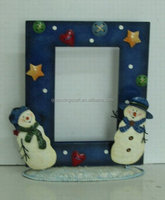 Chirstmas Snowman Photo frame
