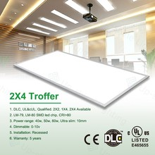 5 years warranty !! UL cUL DLC approval 0-10V dimmable 2x4 led panel light