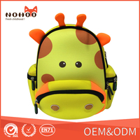 2015 Kids Giraff Backpacks Baby Boys Girls School Bags Children High Quality Material Bags Newest Hot Sell Double Shoulder Bags