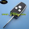 New arrival cover car keys for Toyota Corolla key cover 3 button