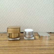jars glass Newest 5g to 200g acrylic cosmetic jar for face cream