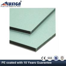Alusign 12 years High strength aluminium kitchen panels cork walls panels of wooden panels