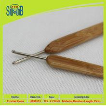 Alibaba trade assurance bamboo steel crochet hook from China