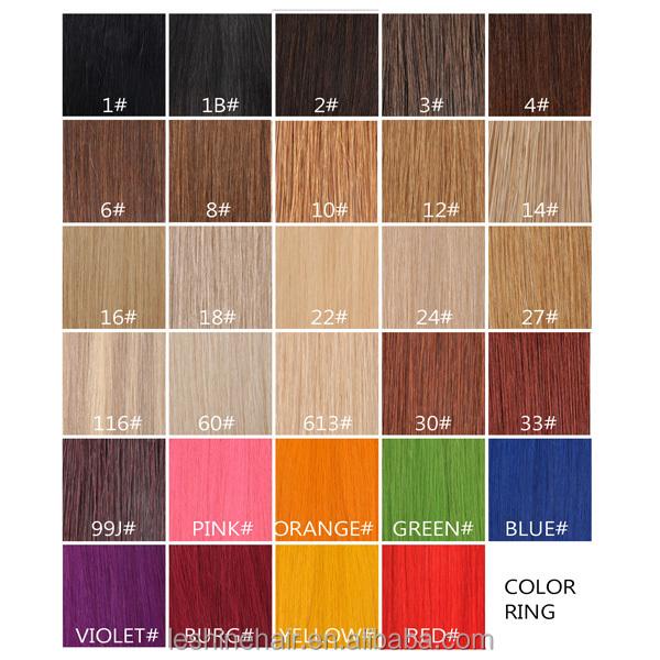 YBY Remy Pleine Cuticules Italien Kératine Haute Top Qualité ombre bande cheveux