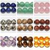 Natural Semi Precious Stone Beads in Strand 12mm