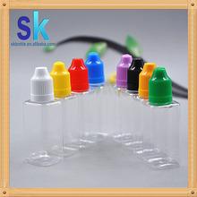 factory direct sale e zig liquids clear plastic dropper bottle clear square pet bottle 10ml mass stock