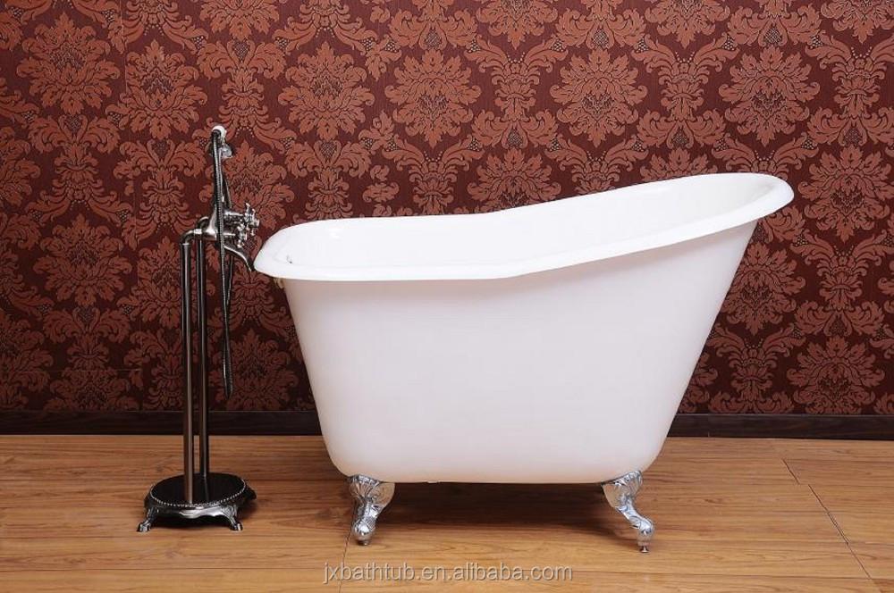 Baby Used Small Clawfoot Cast Iron Bathtub Freestanding Cast Iron Bath Tub F