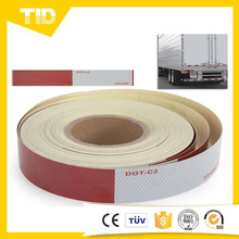 DOT-C2 High Intensity Prismatic PVC Reflective Tape For Vehicle